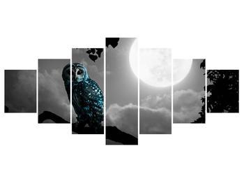 Tablou cu bufnița nocturnă (K012185K210100)