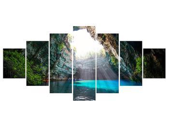 Obraz jeskyně s vodní plochou (K012667K210100)