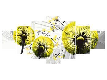 Tablou galben cu păpădii (K014028K210100)