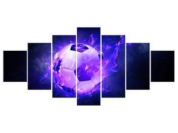 Tablou cu mingea de footbal în plasă (K014164K210100)