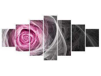 Abstraktní obraz růže (K014952K210100)