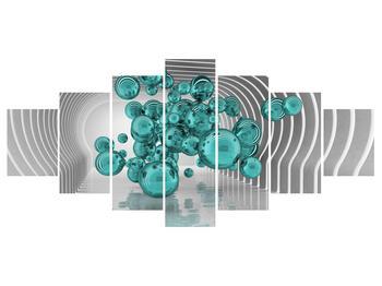 Abstraktní obraz - bubliny (K014966K210100)