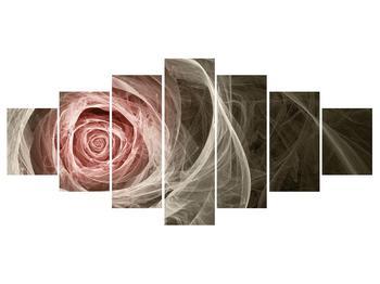 Abstraktní obraz růže (K014988K210100)