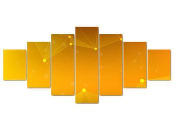 Abstraktní žlutý obraz (V020045V210100)