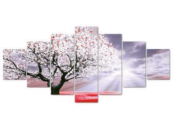 Červený obraz stromu (V020052V210100)