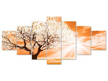 Oranžový obraz stromu (V020095V210100)