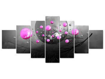 Obraz ružových gulí (V020105V210100)