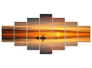 Obraz - plavba na loďke (V020168V210100)