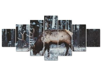 Obraz - jeleň v zime (V020179V210100)