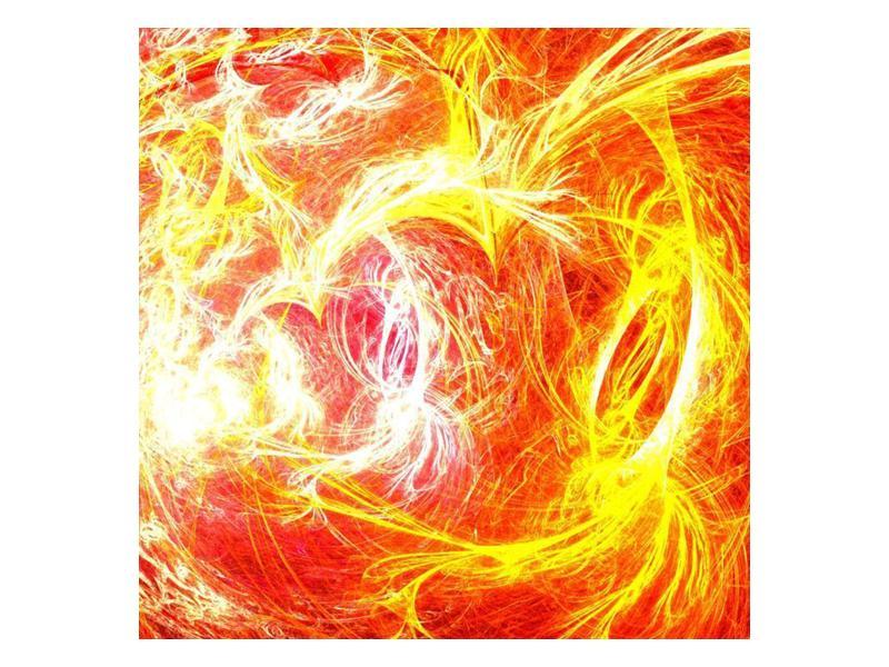 Abstraktní oranžový obraz (F000152F3030)