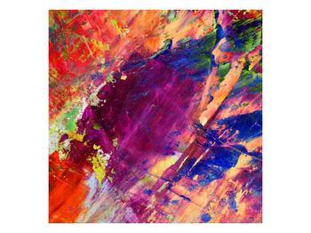 Abstraktní barevný obraz (F000005F3030)