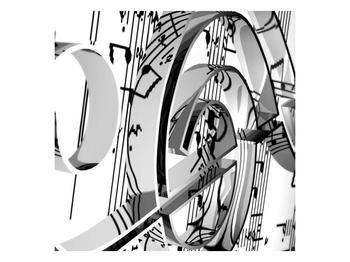 Moderní obraz houslového klíče (F000206F3030)