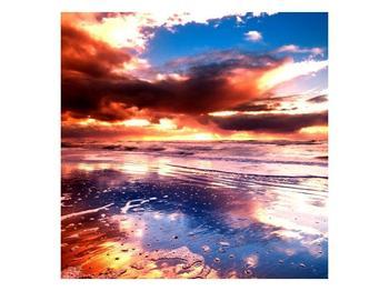 Obraz večerní pláže (F000345F3030)