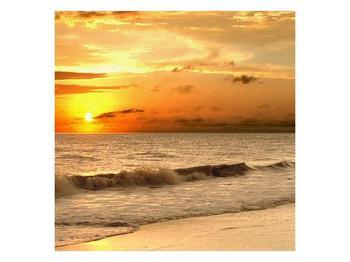 Obraz západu slunce u moře (F000507F3030)
