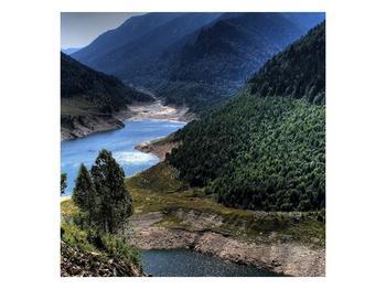 Obraz řeky a hor (F000615F3030)