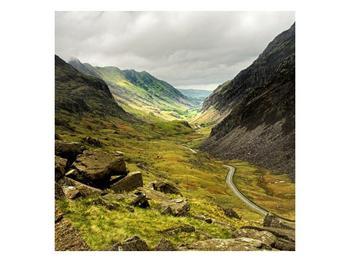 Obraz cesty uprostřed hor (F000621F3030)