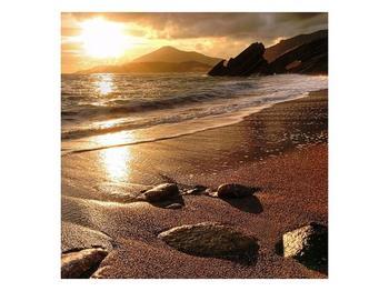 Obraz západu slunce nad mořem (F000701F3030)