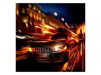 Obraz jedoucího auta (F000797F3030)