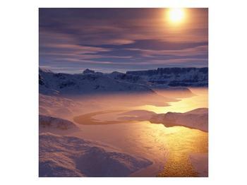 Krásný obraz zimní krajiny (F000939F3030)