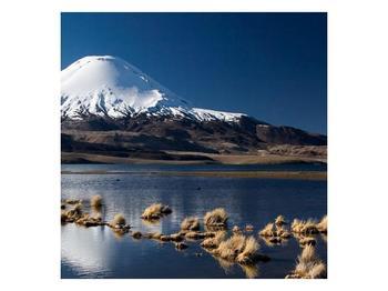 Obraz zasněžené hory (F000974F3030)