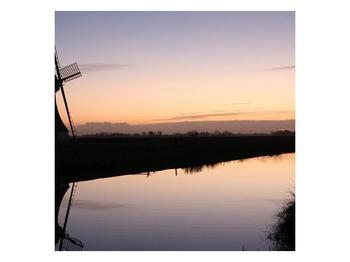 Obraz rybníku u mlýna (F001556F3030)