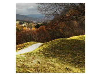 Obraz podzimního pahorku (F001650F3030)