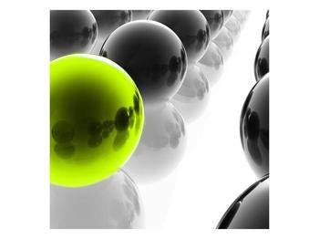 Obraz žluté koule (F002111F3030)