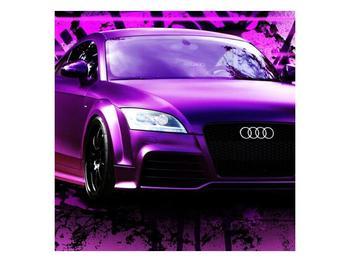 Obraz fialové Audi (F002349F3030)