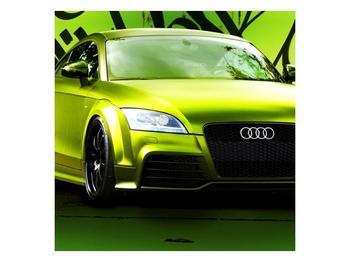 Obraz zelené Audi  (F003676F3030)