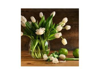 Obraz tulipánů ve váze (K011364K3030)