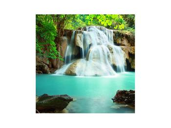 Obraz řeky s vodopády (K011969K3030)