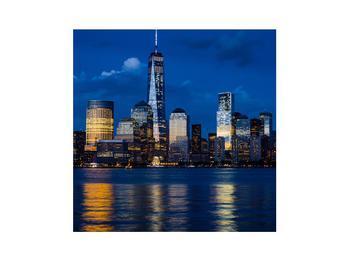 Obraz mrakodrapů (K012339K3030)