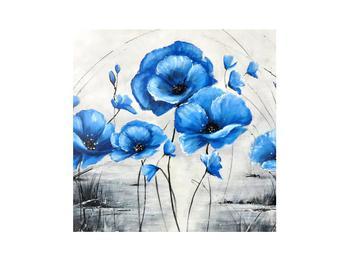 Obraz modrých vlčích makov (K012347K3030)