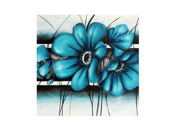 Kék virágok képe (K012370K3030)