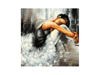 Obraz nešťastné baletky (K012404K3030)