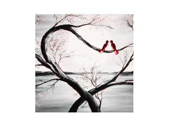 Zamilovaný obraz ptáků (K012527K3030)