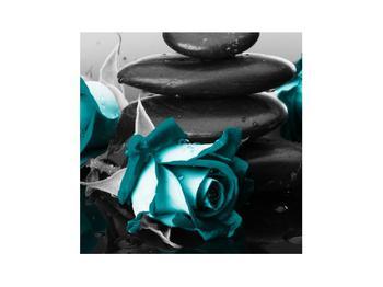 Tablou cu trandafiri albastre (K012553K3030)