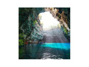 Obraz jeskyně s vodní plochou (K012667K3030)