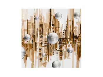 Abstraktní obraz - město (K014743K3030)