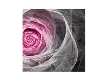 Abstraktní obraz růže (K014952K3030)