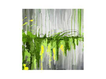 Abstraktní obraz - malba (K014961K3030)