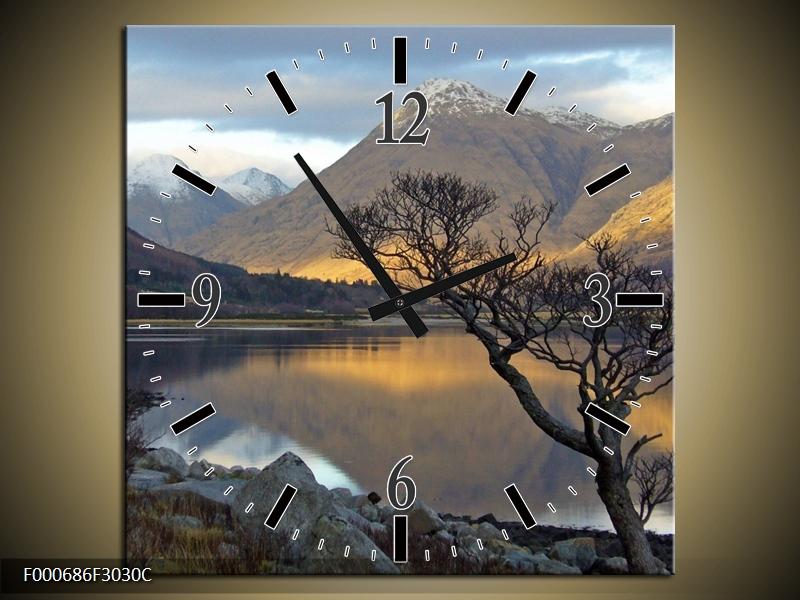 Obraz hor u jezera (F000686F3030C)