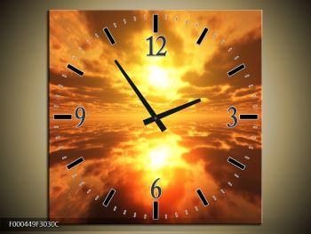 Obraz s hodinami F000449F3030C (F000449F3030C)