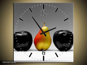 Obraz dvou jablek a hrušky (F001587F3030C)