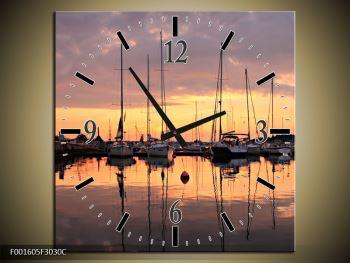 Obraz přístavu (F001605F3030C)