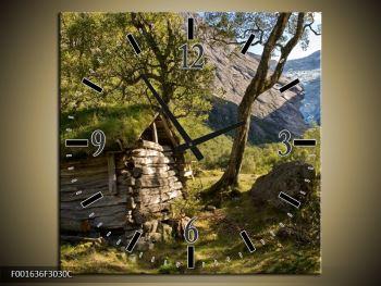 Obraz horské chatrče (F001636F3030C)