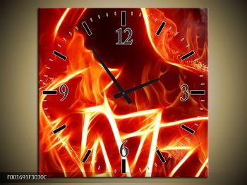 Obraz ohnivé postavy (F001691F3030C)