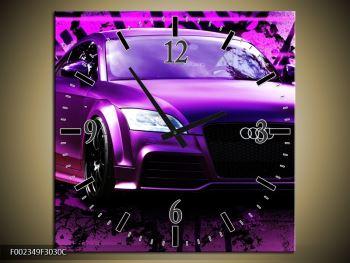 Obraz fialové Audi (F002349F3030C)