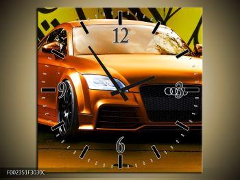 Obraz oranžové Audi (F002351F3030C)