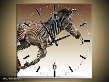 Obraz běžící zebry (F002416F3030C)